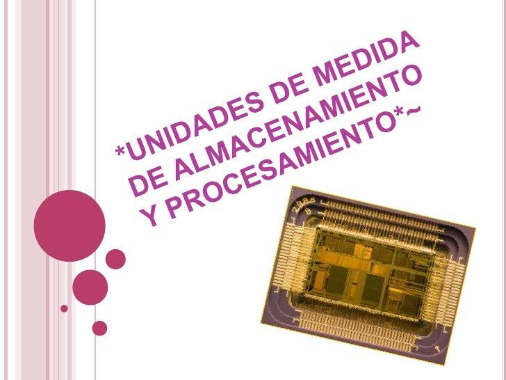    La unidad central de    procesamiento, UCP o    CPU, o simplemente el    procesador o    microprocesador, es el    com...