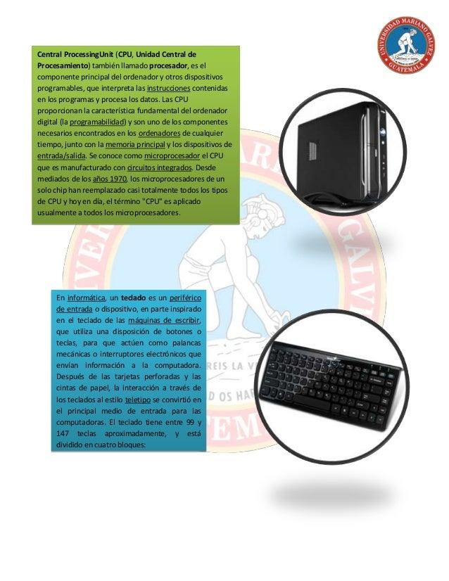 Hardware de la computadora Slide 2