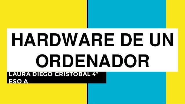 HARDWARE DE UN ORDENADOR LAURA DIEGO CRISTÓBAL 4º ESO A