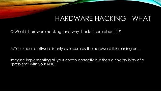 hardware random number generator hack