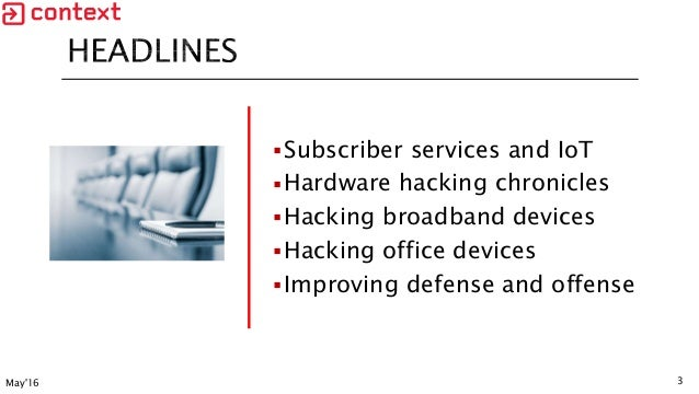 Hardware Hacking Chronicles: IoT Hacking for Offence and Defence Slide 3