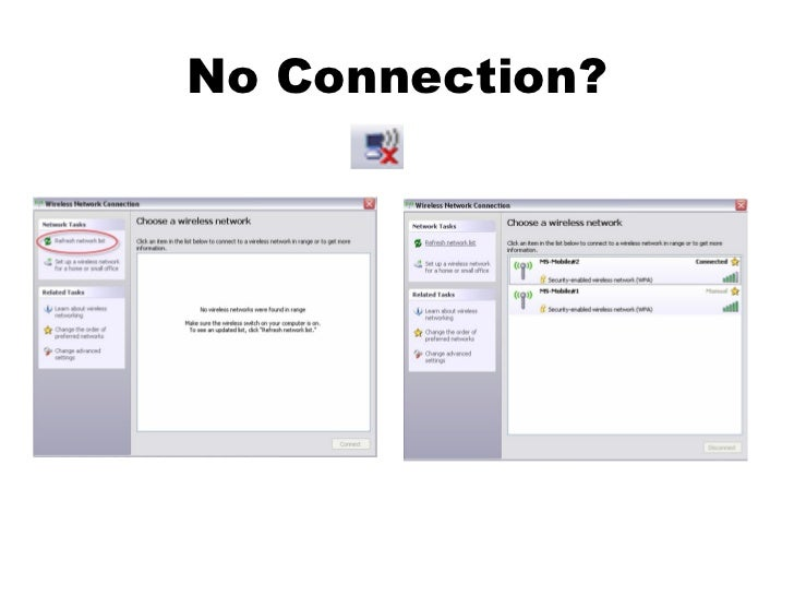 No Connection?