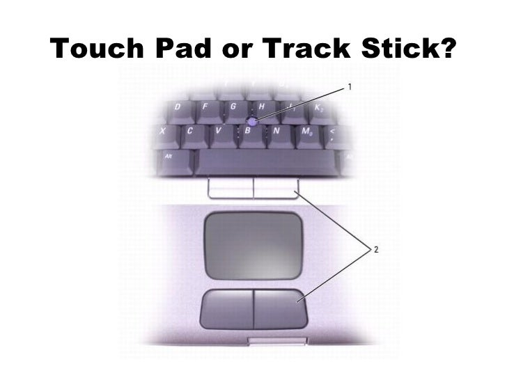 Touch Pad or Track Stick?