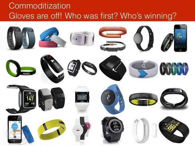 Commoditization Gloves are off! Who was first? Who's winning?