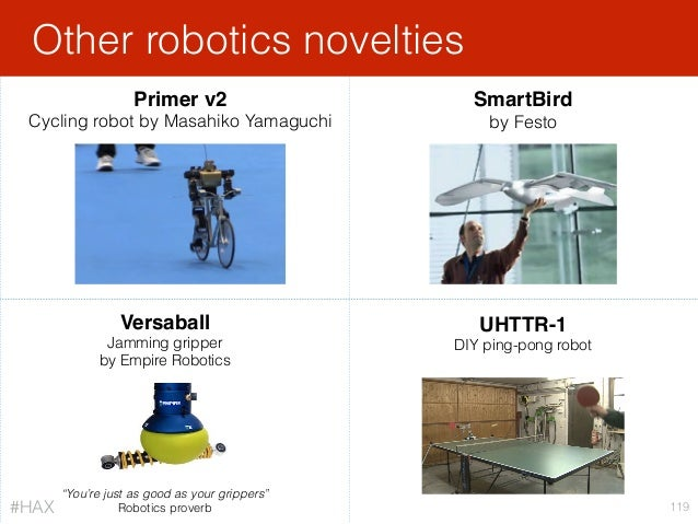 "Versaball Jamming gripper by Empire Robotics Other robotics novelties 119 ""You're just as good as your grippers"" Robotics..."