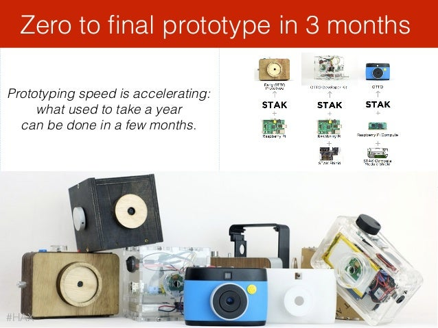3D printers usage stops at proof of conceptZero to final prototype in 3 months Prototyping speed is accelerating: what used...