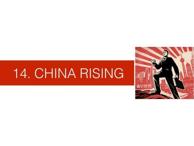 14. CHINA RISING