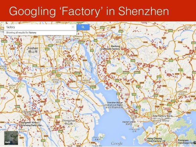 Googling 'Factory' in Shenzhen