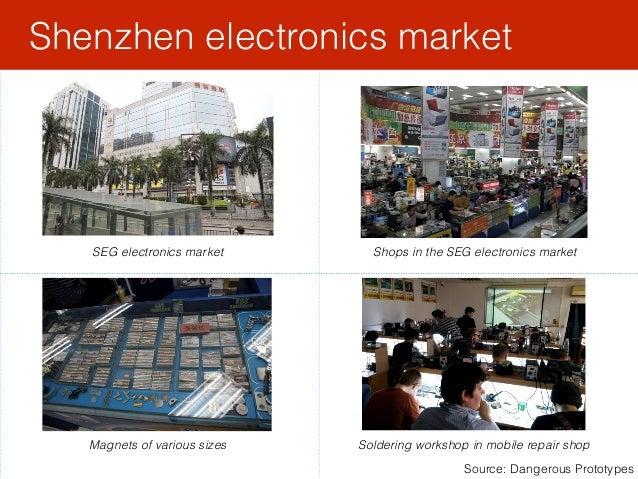 Shenzhen electronics market Source: Dangerous Prototypes SEG electronics market Shops in the SEG electronics market Magnet...