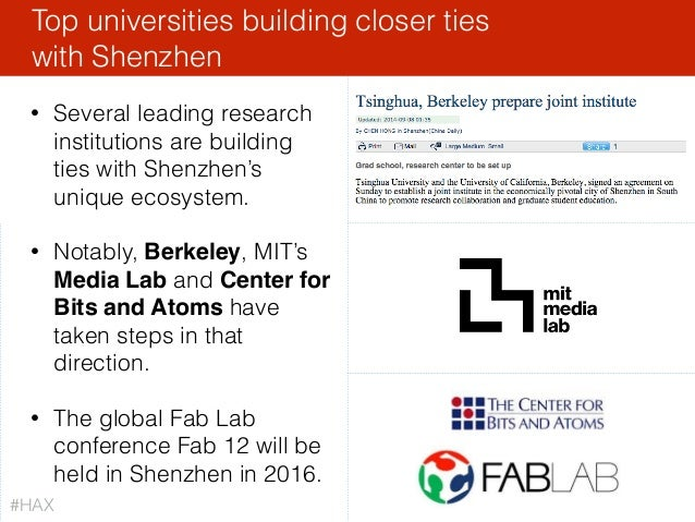Top universities building closer ties with Shenzhen • Several leading research institutions are building ties with Shenzh...