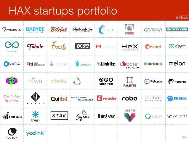 HAX startups portfolio 189 #HAX