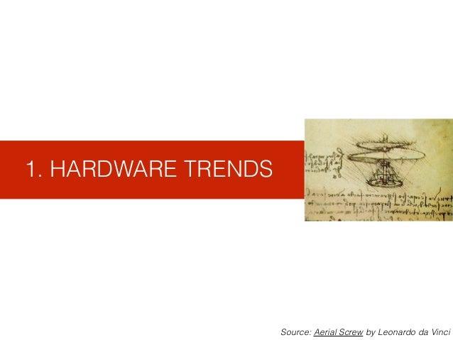 1. HARDWARE TRENDS Source: Aerial Screw by Leonardo da Vinci
