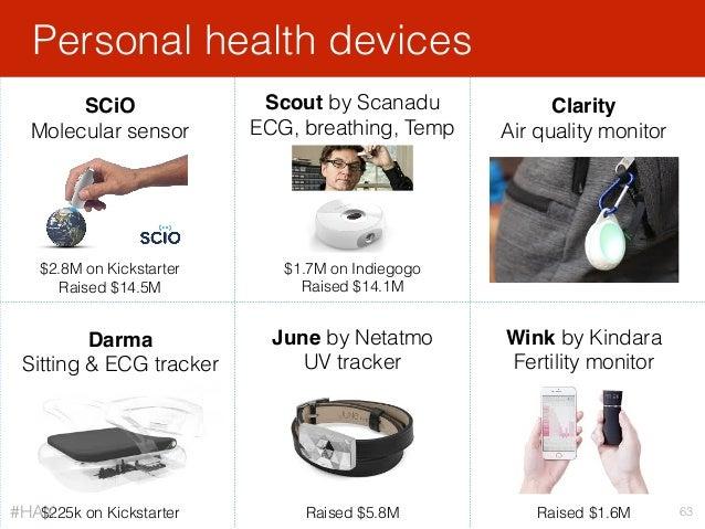 Personal health devices 63 SCiO Molecular sensor Scout by Scanadu ECG, breathing, Temp Clarity Air quality monitor Darma S...