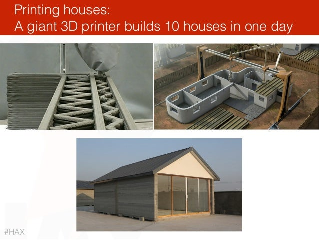 Printing houses: A giant 3D printer builds 10 houses in one day #HAX