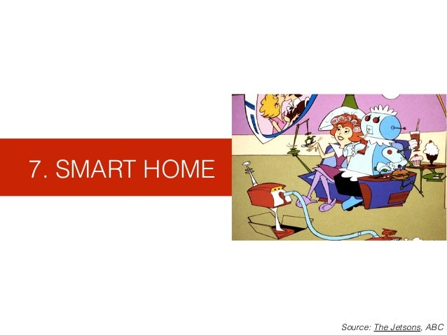 7. SMART HOME Source: The Jetsons, ABC