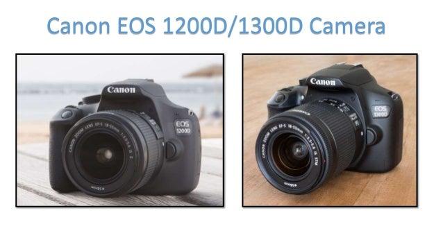 Canon EOS 1200D/1300D Camera