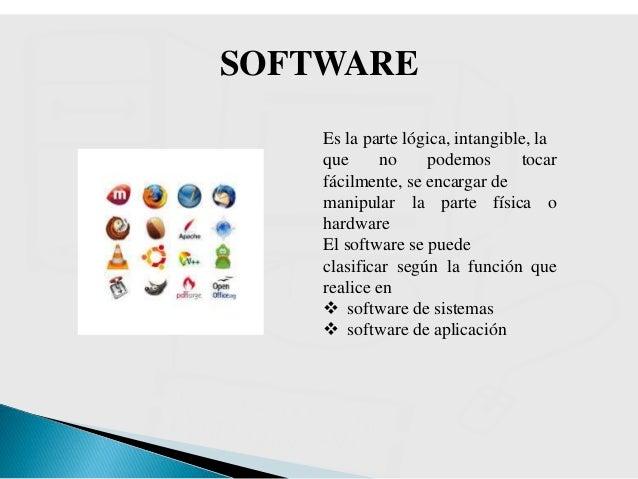 Hardware y software del computador conociendo el teclado for Que significa hardware
