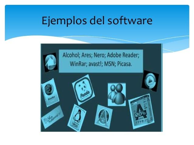Hardware  y software diapositivas