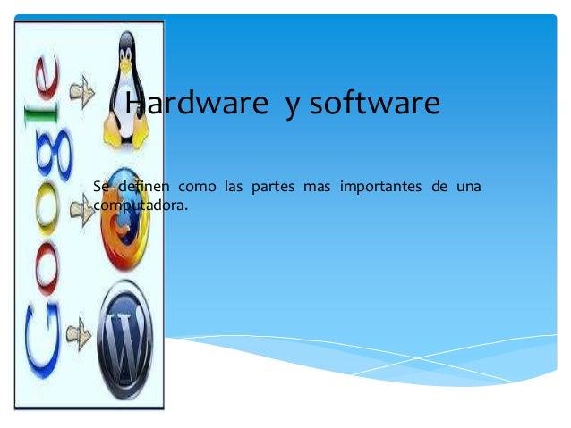 Ejemplos del hardware