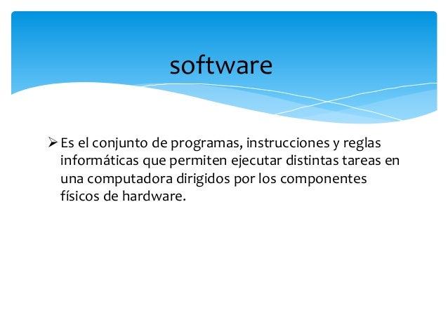 Ejemplos del software