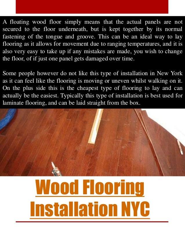 Wood Flooring Installation Brooklyn