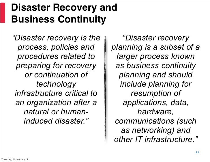 foremostco computer system switchover a disaster Another important concept to remember is that the switchover times for redundancy are commonly so fast that the system is not noticeably affected by the downtime.