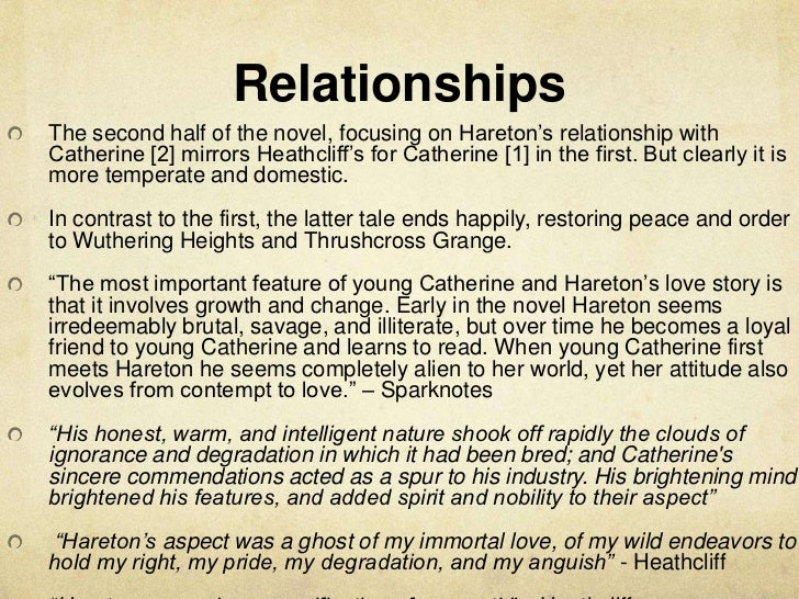 wuthering heights catherine and heathcliff relationship