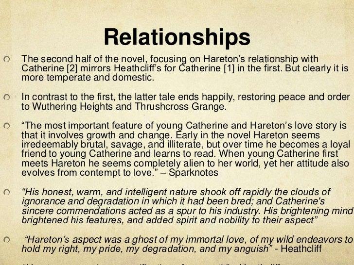 hareton and cathys relationship marketing