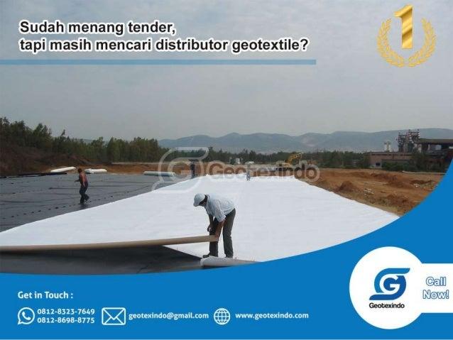 Harga jual geotextile di banjarmasin 0812-8323-7649