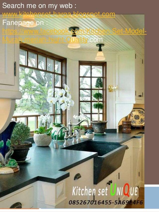 Harga Kitchen Set Bahan Hpl Kitchen Set Minimalis Untuk Dapur Kecil