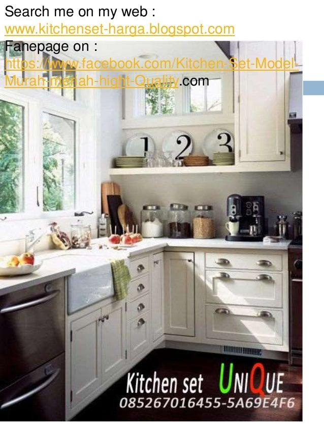 Harga Kitchen Set Bahan Hpl Minimalis Untuk Dapur Kecil Bikin Di Malang 085267016455 5 A69e4f6