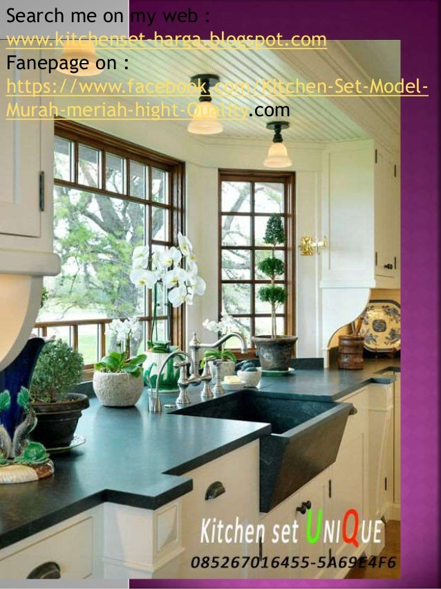 Harga Kitchen Set Bar Kitchen Set Minimalis Apartemen Kitchen Set D