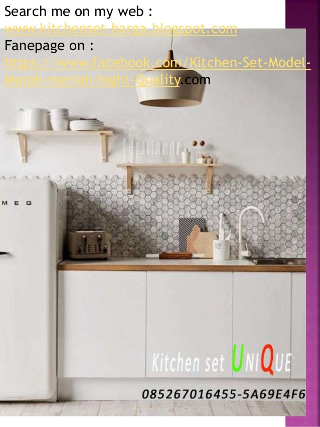 Harga kitchen set bar kitchen set minimalis apartemen for Harga kitchen set murah