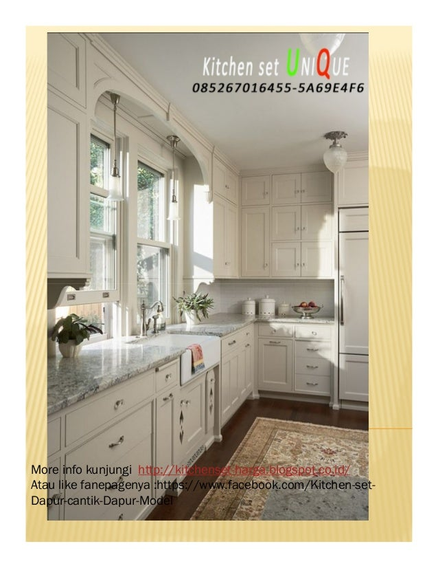 Harga Kitchen Set Cafe Kitchen Set Minimalis Dengan Mini Bar Penjua