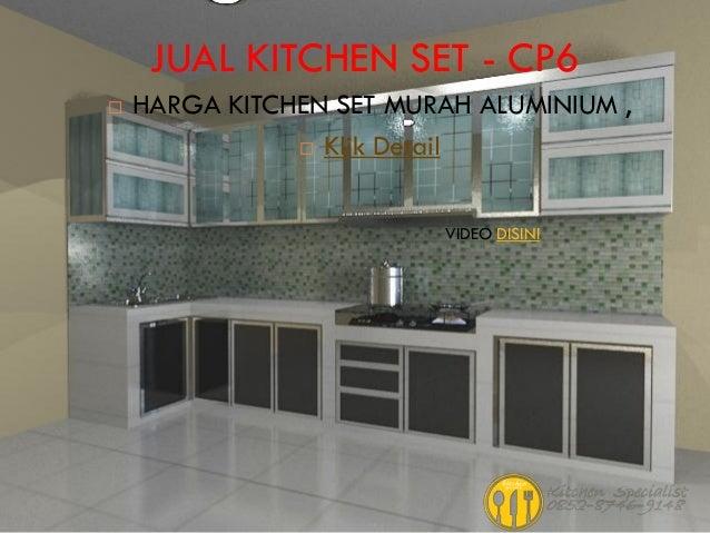 Harga Kitchen Set Dapur