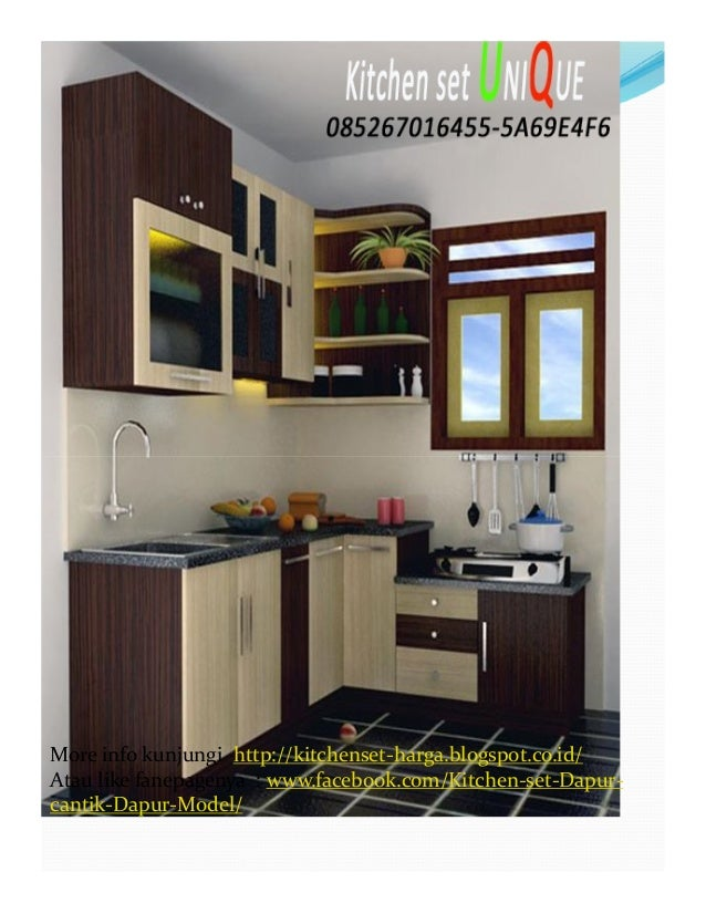 Harga kitchen set dapur kecil kitchen set minimalis ruang for Harga buat kitchen set