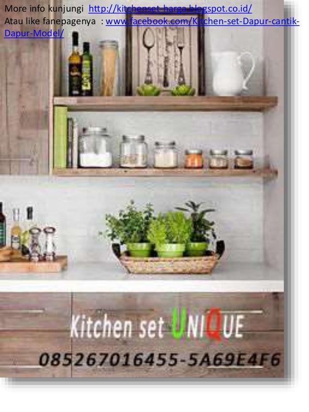 Harga kitchen set dapur kitchen set minimalis meja bar for Beli kitchen set jadi