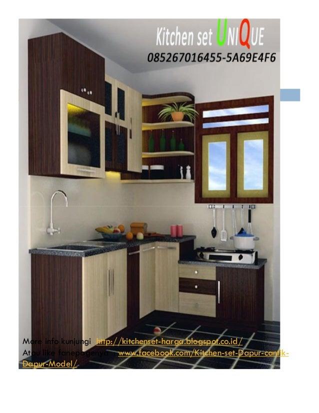 Harga Kitchen Set Di Surabaya Kitchen Set Minimalis Bentuk U Jual K
