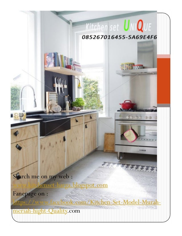 Harga kitchen set klasik kitchen set minimalis stainless for Harga kitchen set aluminium minimalis