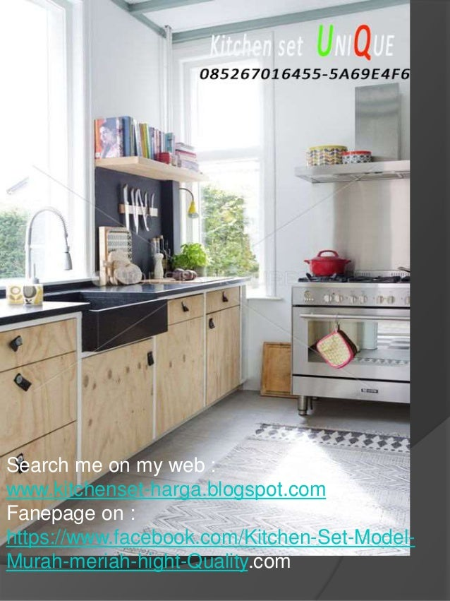 Harga kitchen set lemari gantung kitchen set minimalis for Harga lemari kitchen set