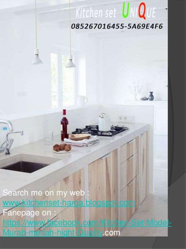 Harga Kitchen Set Lemari Gantung Kitchen Set Minimalis Dibawah Tangg