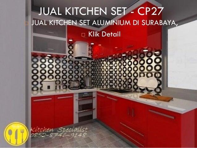 Harga Kitchen Set Minimalis Murah Jakarta