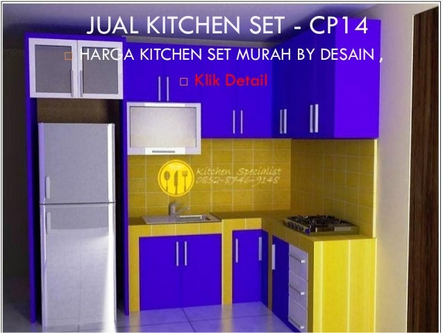 Harga kitchen set murah aluminium for Kitchen set olympic harga