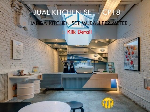 Harga kitchen set murah aluminium for Harga bikin kitchen set