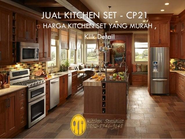 Harga kitchen set murah aluminium for Harga kitchen set surabaya