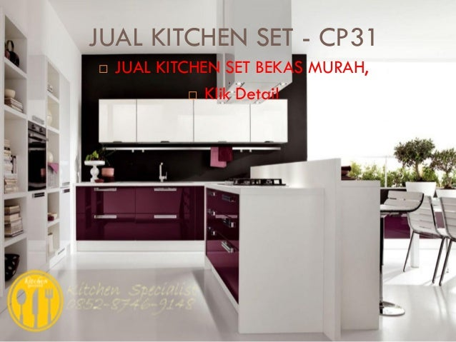 Harga kitchen set murah aluminium for Harga kitchen set aluminium