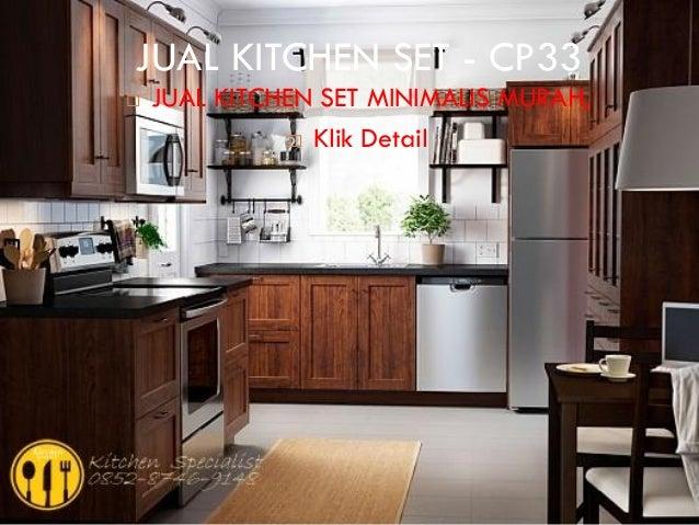 Harga kitchen set murah aluminium for Kitchen set murah
