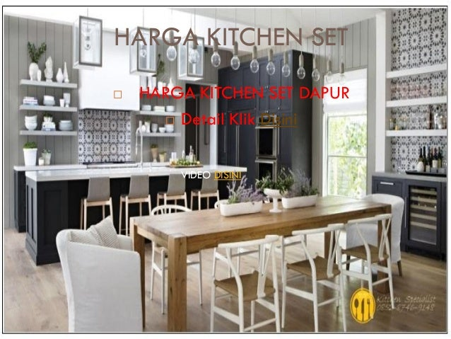 Harga kitchen set murah aluminium for Daftar harga kitchen set aluminium