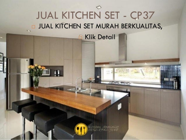 Harga kitchen set murah aluminium for Harga kitchen set murah