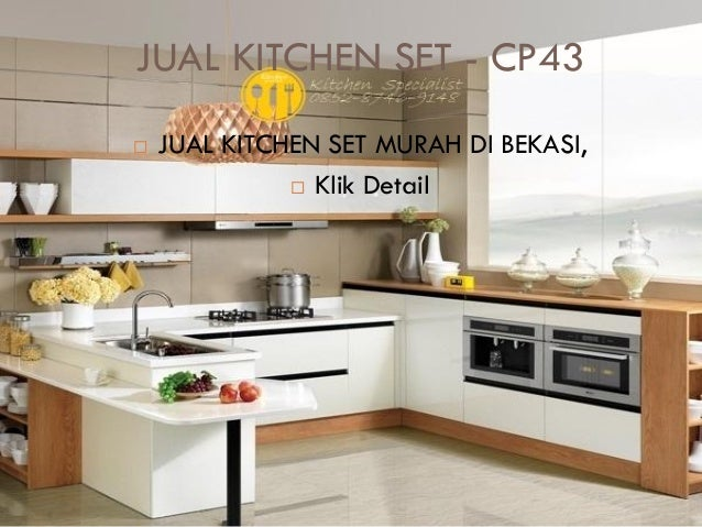 Harga kitchen set murah aluminium for Jual kitchen set aluminium